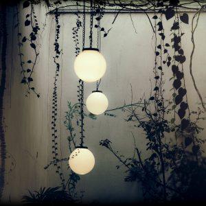Éclairage extérieur ambiance